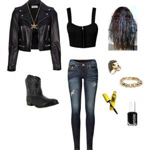 Edgy Punk Rock Outfits for Girls