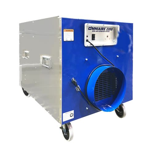 air filtration systems negative air machines  portable
