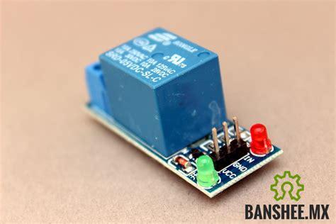 modulo de 1 relevador relay 1 polo 2 tiros 5v a 35 00 banshee mx