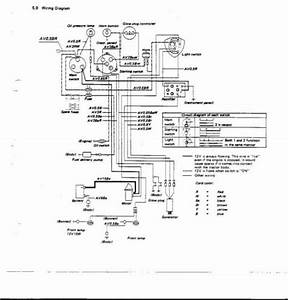 Tractor Kubota B6001 Schematic Diagram  59077