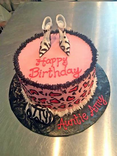 Birthday Cakes Cake Adult Glamour Shoes Purse