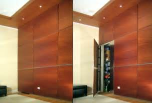 Bifold Closet Doors Hardware by Secret Door Hidden Behind Wall Panel Stashvault