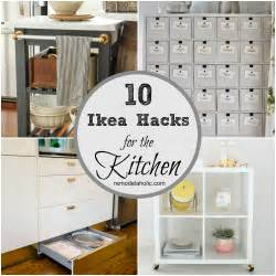 kitchen storage island cart 10 ingenious ikea hacks for the kitchen remodelaholic