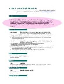 resume objective statement for registered registered resume objective statement
