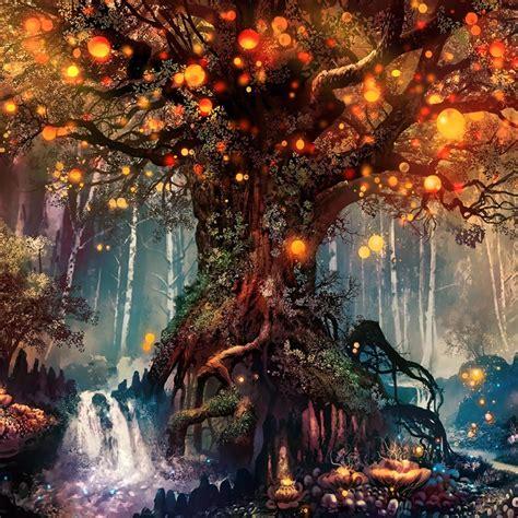 fantasy forest wallpaper engine   wallpaper