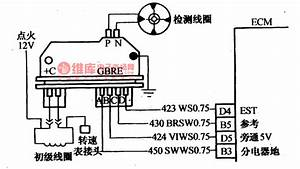 The Fault Code Of 42 Detection Circuit Of Daewoo Espero - Automotive Circuit