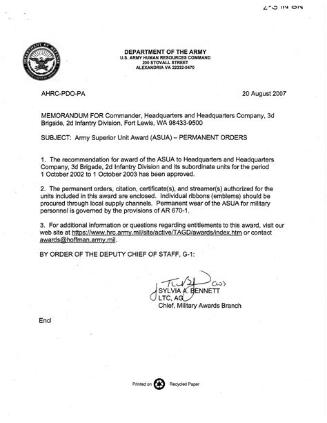 army memorandum template word