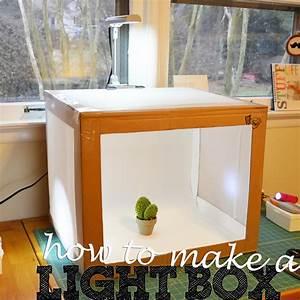 Sewing Barefoot: light box | Photo light box, Light box diy, Light box photography