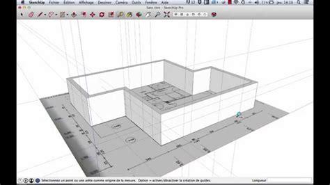 logiciel cuisine but sketchup modéliser d 39 après plan 2d