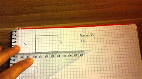 flaecheninhalt eines rechtecks berechnen  gehts youtube