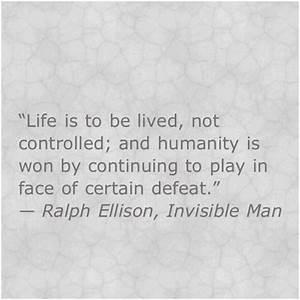 Invisible Man R... Invisible Man Machine Quotes