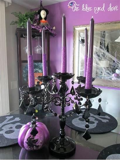 Halloween Decorations Indoor Decoration Decor Purple Table