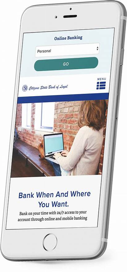 Bank Website Loyal Responsive Citizens State Brownboots