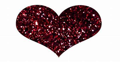 Heart Glitter Animated Hearts Animation Sparkling Pink