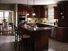kitchen layouts l shaped with island l shaped kitchen island ideas from aristokraft cabinetry shown in an l shaped layout