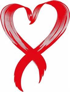 Love Awareness Ribbon Vector Free