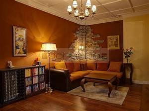 Mauer Wand Wohnzimmer : acherno interior design wohnung ~ Lizthompson.info Haus und Dekorationen