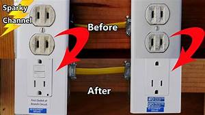 Replace A Circuit Of 2 Prong Receptacles With Afci Gfci