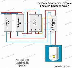 Cablage Chauffe Eau : cablage horloge flash monotron 200 ~ Melissatoandfro.com Idées de Décoration