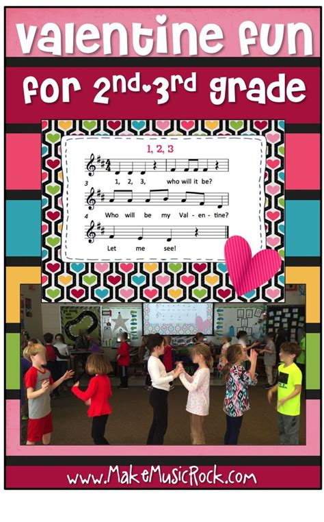 Get prepared lessons for your next elementary curriculum centred learning. Make Music Rock!: Valentine Fun - song/movement activity with changing partners & mi-r ...