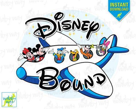 Disney Bound Mickey Airplane Printable Iron On Transfer Or Use