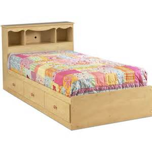 south shore lily rose twin bed set pine seo walmart com