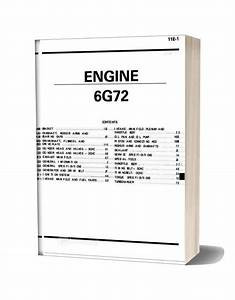 Mitsubishi Engine 6g72 Manual