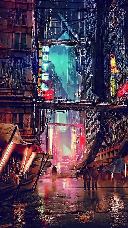 Cyberpunk 4k Wallpapers Digital Futuristic Fiction Science