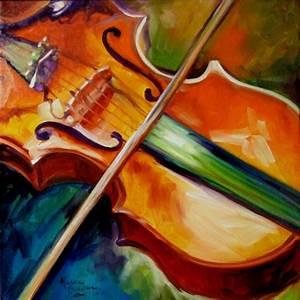 Violin Abstract | Artsy Shark