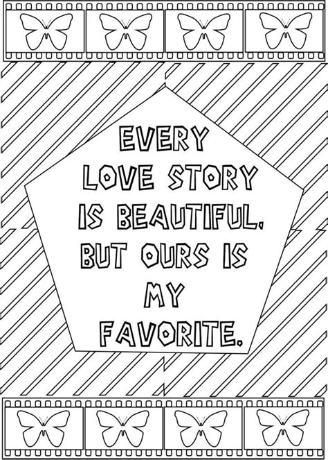 love quotes   coloring pages quote coloring pages words coloring book love coloring pages