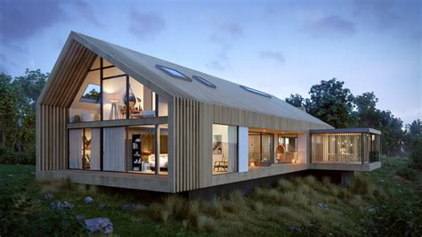 Bespoke Kitchen Ideas - contemporary barn house eqo leung architecturepublic