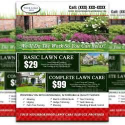care design lawn care flyer design 2 the lawn market