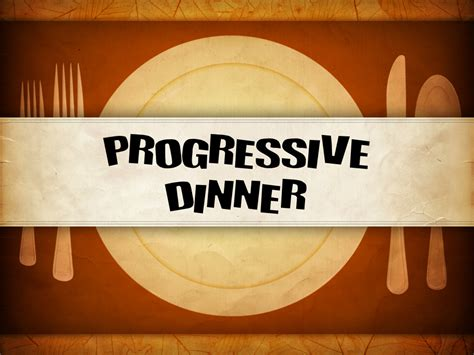 Youth Group Progressive Dinner  Alexandria First Baptist