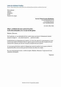 Modele De Resiliation Assurance : modele de lettre resiliation ~ Gottalentnigeria.com Avis de Voitures