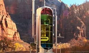 Vertical Separator Illustration     Created For Oil  U0026 Gas