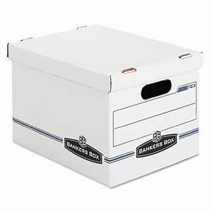 Bankers box bankers box stor file storage box with lift for Letter legal storage boxes with lids