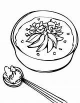 Coloring Soup Clipart Rice Porridge Chicken Stone Clip Cliparts Goldilocks Nutrition Eating Congee Printable Line Library Getcolorings Popular Results Coloringhome sketch template