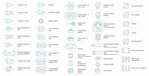 E Wiring Diagram Symbols Pointing Down