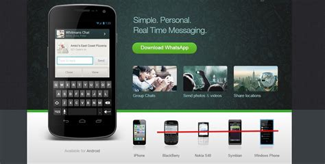 whatsapp  withdraw support  nokia  blackberry devices     pc tech magazine