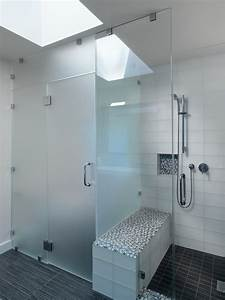 san francisco frosted glass partitions bathroom