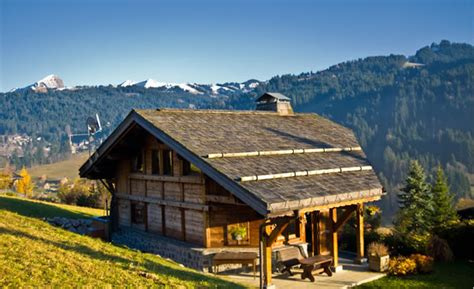 chalet les farfadets les gets chalet camomille luxurious chalet rental located in on the side of les gets