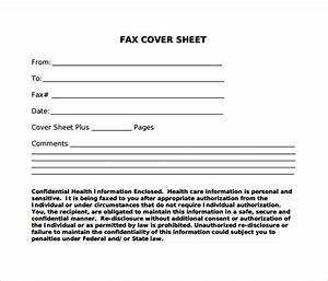 Sample standard fax cover sheet 11 documents in word pdf for Fax cover sheet name