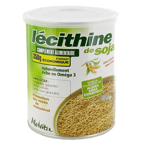 l 233 cithine de soja melvita aromatic provence