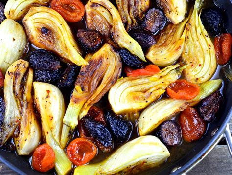 passover recipes braised fennel with apricots and figs