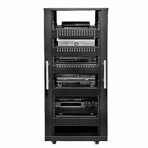 Peerless 30u Av Component Rack System Black Avl
