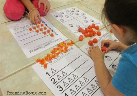 candy corn counting math worksheets  printables