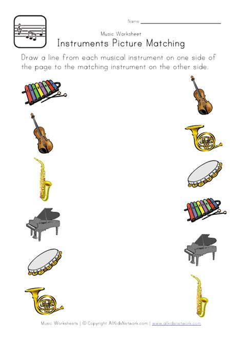 6 Best Images Of Free Printable Music Worksheets  Free Kindergarten Music Worksheets, Music