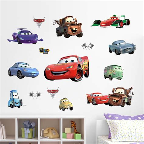 wallpaper sticker cm xm cars child room wall stickers for room boy