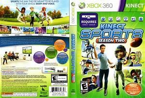 Kinect Sports Season 2 Dvd Ntsc F Xbox 360 Game Covers