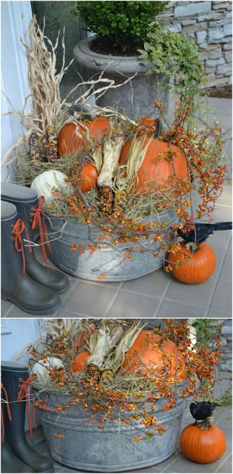 15+ DIY Outdoor Fall Decorations